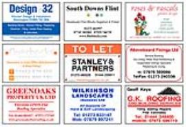 Full Colour Advertising Boards