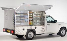 Fast Food Delivery Trucks