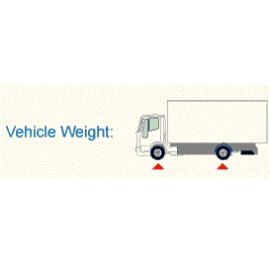 Vehicle weight monitoring