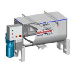 U Trough 'Lean' mixer (UTL) - Ribbon Blender
