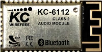 KC-6112 Class 2 Bluetooth Audio Module