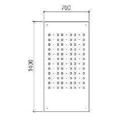 W 7/14 PIN Display Panel