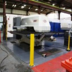 USED RAINER OS2500 CNC PUNCH PRESS # 4741