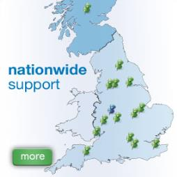 Nationwide Support - Rapid Response.