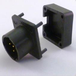 BA5590 MAIL CONNECTOR WITH BACKSHELL