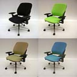 Recovered Steelcase Leap task chairs