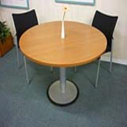 1200mm diameter cherry circular table