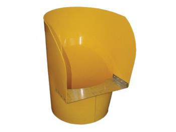 Yellow Hopper Rubbish Chutes