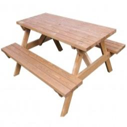Wooden Picnic Benches