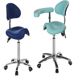 Medi Saddle Chair with arm/ torso support & back rest