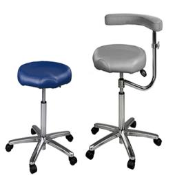 Contour Stool with arm torso support
