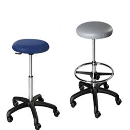 Dental Operator Stool with black composite base