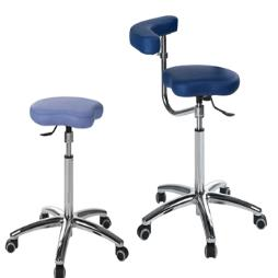 Ergonomic Tri Stool With Arms