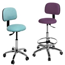 Dental Operator Chair with aluminium base