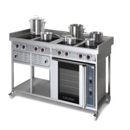 Induction Solid Top Range Cooker