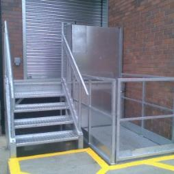 Galvanised Finish Scissor Lifts