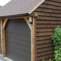 1 Bay Garble Roofed Garages