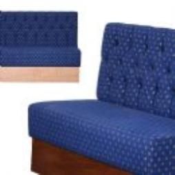 Deep Button Back Free Standing Bench Seating Units