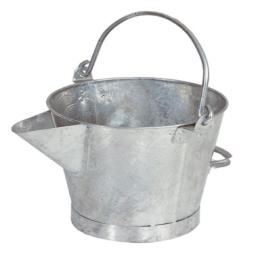 V LIP GALVANISED POURING BUCKET