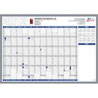 A1 Recycled Stock Year Planner