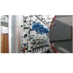 Industrial Cooling System Installation