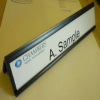 Manufacturers and Suppliers of Custom Made Office Door Name Plates & Desk Signs