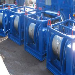 LARGE CAPACITY ELECTRIC WINCHES