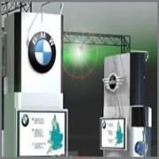 Visual exhibition stands