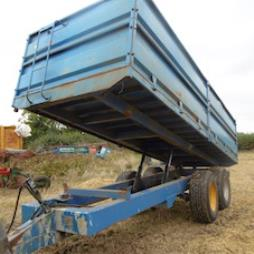 12 TON GRAIN TRAILER DETACHABLE SIDES