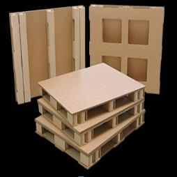 Ultra-Strong EcoPal HD Fibreboard Pallet