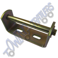 Keel / Vee Roller Bracket 148mm with 16mm Spindle