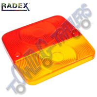 Radex Lens Small Square Universal 4 Function Light for LU410R