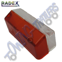 Radex Replacement Lens Red/White for LU820