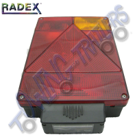Radex 6805 Righthand 6 Function Rear Light (Plug In)