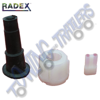 Radex Auxillary Plug White Marker - (Pins not included)