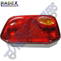 Radex 2800 Righthand 6 Function Rear Light (Plug In)