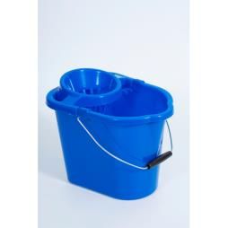 12L Hygiene Bucket with Wringer Blue