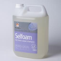 C005 Selfoam 5LT x 4 Dry Foam Carpet Shampoo
