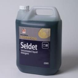 C001 Seldet 5LT x 4 Concentrated Liquid Detergent