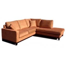 Amberly Fabric Leather Sofa