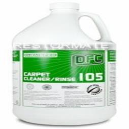 DFC105 Carpet and Upholstery Cleaner/Rinse