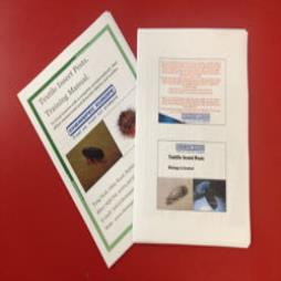 NEW - Textile Insect Pest Training Course