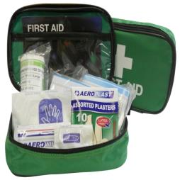 Economy 1 Person HSE First Aid Kit in Zipped Pouch with Eyewash