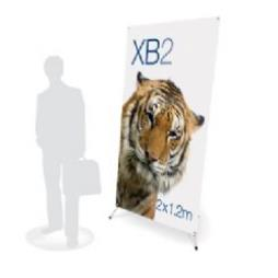 XB2 Banner Display Stand