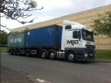 UK Road Container Delivery Service