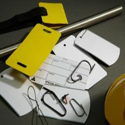 Paper Covered Steel Tags