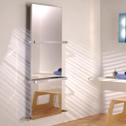 Ce Bagno Flat Steel Radiator With Towel Bar