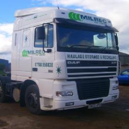 Main Powder Hauliers in North East Scotland