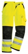 Xenon Hi Vis Visibility Two Tone Work Wear Trouser Pants