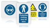 Personal Protection Safety Signs